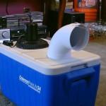 TIPS LIFEHACK : Cara Bikin AC dari Styrofoam, Pipa, dan Kipas Angin