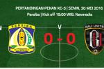 ISC A 2016 : Persiba Balikpapan Tekuk Bali United 3-1