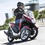 SEPEDA MOTOR HONDA : Honda Siapkan Skutik Roda 3 Penantang Tricity