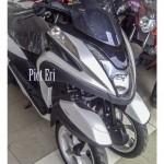 SEPEDA MOTOR YAMAHA: Skutik Roda 3 Tricity Meluncur, Masuk Indonesia?