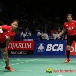 INDONESIA OPEN 2016 : Kalah Kelas, Anggia/Ketut Terhenti di Perempatfinal