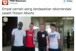 ISC A 2016 : Empat Pemain Asing PSM Tiba di Makassar