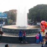 RAMADAN 2016 : Air Mancur Kembar di Sragen Ini Lokasi Selfie Favorit saat Ngabuburit