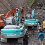 PERTAMBANGAN BOYOLALI : Sidak Temukan 8 Alat Berat, 5 Disembunyikan di Balik Tebing Kali Apu