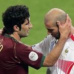 PORTUGAL VS PRANCIS : Duel Legendaris Figo vs Zidane di Turnamen Besar