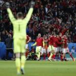 HASIL AKHIR PEREMPATFINAL : Taklukan Belgia 3-1, Wales Tantang Portugal di Semifinal