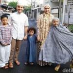 INSTAGRAM ARTIS : Dalam Proses Cerai, Sahrul Gunawan Tetap Lebaran Bareng Istri