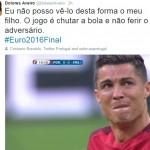 FINAL PIALA EROPA 2016 : Ibu Ronaldo: Pemandangan Ini Sangat Menyakitkan Bagi Saya