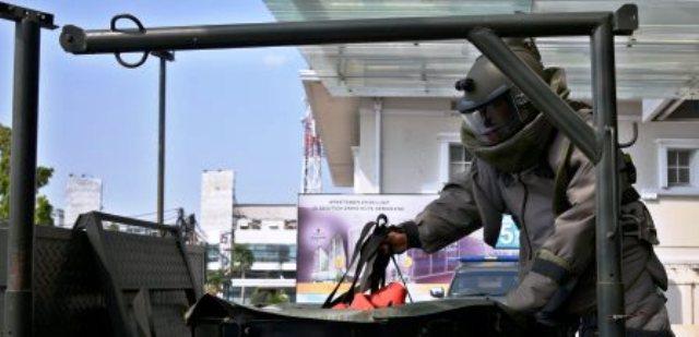 TEROR BOM SEMARANG : Ancaman Bom Landa Java Mall