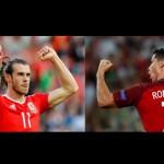 PREDIKSI PORTUGAL VS WALES : Head to Head Ronaldo vs Bale, Siapa Unggul?