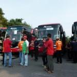 FOTO ARUS BALIK : Ratusan Karyawan IPC Pelindo II Balik ke Jakarta