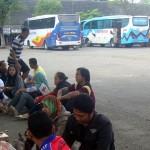 LEBARAN 2916 : Karyawan Pabrik Sepatu Ramai-Ramai Tinggalkan Sragen