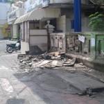 PKL SOLO : PKL Jl. Gatot Subroto Ogah Masuk Pasar
