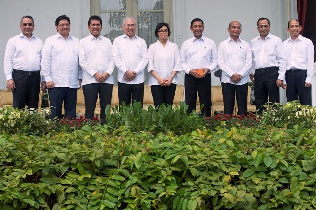 RESHUFFLE KABINET : Inilah Profil Menteri Baru Hasil Reshuffle Jilid II