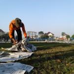LEBARAN 2016 : Tak Ada Pemulung, Petugas DPU Sukoharjo Kewalahan Atasi Sampah