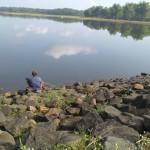 WISATA BOYOLALI : Aktivitas Para Pemancing Rusak Waduk Bade