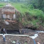 INFRASTRUKTUR BOYOLALI : Jembatan Santren Teras Mulai Dibangun