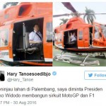 MOTOGP DI INDONESIA : Hary Tanoe Ngaku Diminta Jokowi Bangun Sirkuit Jakabaring