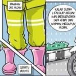TIPS OTOMOTIF : Jangan Pakai Mantel Warna Gelap saat Hujan!
