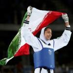 OLIMPIADE 2016 : Taekwondoin Berjilbab Bikin Harum Iran