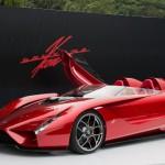 MOBIL KONSEP: Kode57: Supercar Garapan Eks-Desainer Ferrari