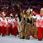 OLIMPIADE 2016 : Klasemen Sementara Perolehan Medali: Indonesia Peringkat ke-14