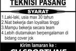 Lowongan Kerja: CV. SPORTLINE