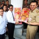 PILKADA DKI : Daftar Pilkada DKI, Ahok-Djarot Didampingi Megawati