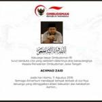 KECELAKAAN DEMAK : Tragis, Kepala Ombudsman Jateng Tewas Tak Jauh dari Rumah