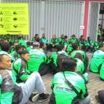 Dipukul Opang, Wanita Driver Gojek Acungkan Pisau