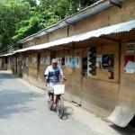 Bekas Pasar Darurat Bangunharjo Solo Jadi Tempat Mesum