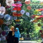 FESTIVAL PAYUNG INDONESIA : Inilah 6 Kantong Parkir Tampung Pengunjung