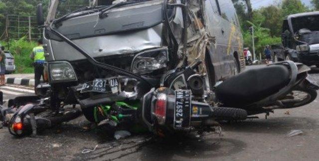Truk Kabur Setelah Tabrak Motor di Ceper Klaten, 1 Orang Meninggal