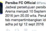 ISC A 2016 : Jadwal Persiba Balikpapan vs Arema Diajukan
