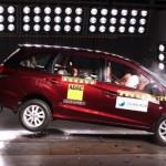 Skor Uji Tabrak Honda Mobilio Kurang Memuaskan