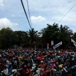 Festival Payung Indonesia Kembali Bikin Macet, Sebagian Batal Nonton