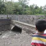 INFRASTRUKTUR  BANTUL : Bendungan Karang Jebol, 64 Hektar Lahan Terancam Kurang Air