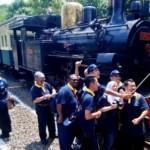 FOTO WISATA SEMARANG : Peserta Arceo ke Museum Kereta Api