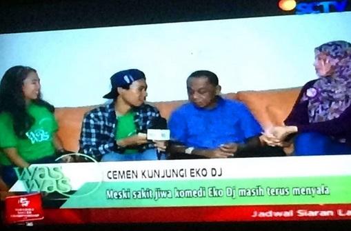 Salah Tanda Baca, Infotainment Dikira Beritakan Eko DJ Sakit Jiwa