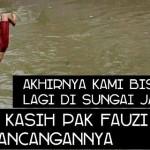 Sindiran Blogger Jadi Inspirasi Sungai Bersih Karena Foke?