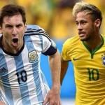"""KUALIFIKASI PIALA DUNIA 2018 : Argentina dan Brasil Tanpa """"Jimat"""", Ini Rekornya"""