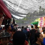 PENATAAN PKL SOLO : Sunday Market Manahan Masih Semrawut