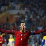 KUALIFIKASI PIALA DUNIA 2018 : Ronal Catat Quattrick Pertama Bersama Portugal
