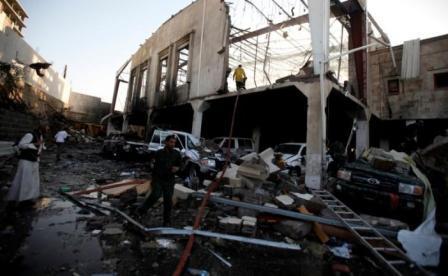 KONFLIK TIMUR TENGAH : Serangan saat Prosesi Pemakaman di Yaman, 140 Orang Tewas