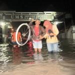 BANJIR SOLORAYA : Boyolali Terus Diguyur Hujan, UMS & RSIS Kian Tergenang