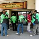 OJEK VS GOJEK SOLO : Polisi Periksa 6 Saksi Pengeroyokan Driver Gojek