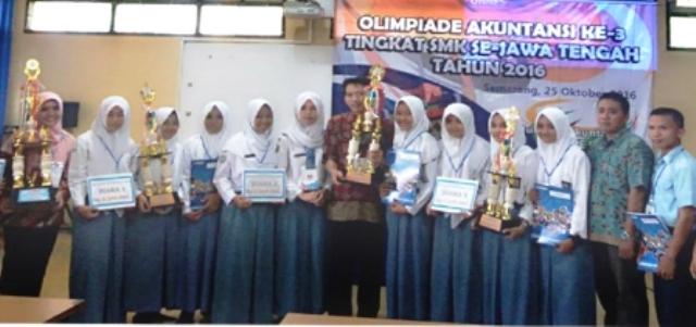 KAMPUS DI SEMARANG : Unnes Gelar Olimpiade Akuntansi, SMK YPE Sampang Cilacap Juaranya
