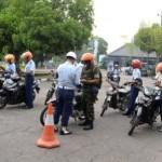 RAZIA KARANGANYAR : Anggota TNI AU Lanud Adi Soemarmo Disweeping