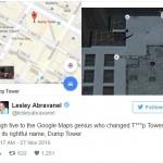"""Di Google Map, Trump Tower Ganti Nama Jadi """"Tempat Sampah"""""""