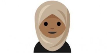 Emoji wanita berjilbab (The Verge)
